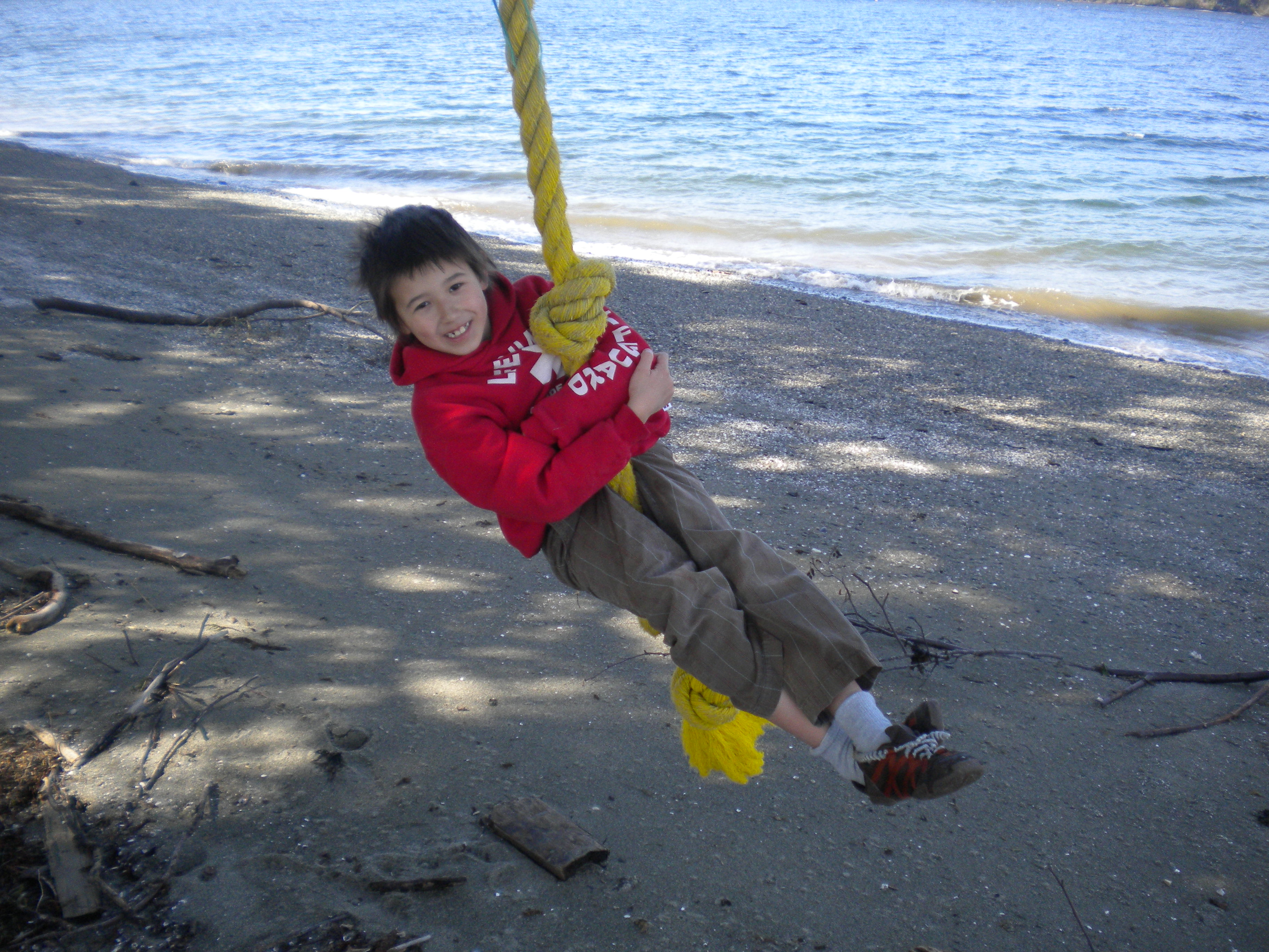 Rope Swing at North Beach