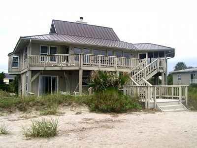 Exterior - View from Beach