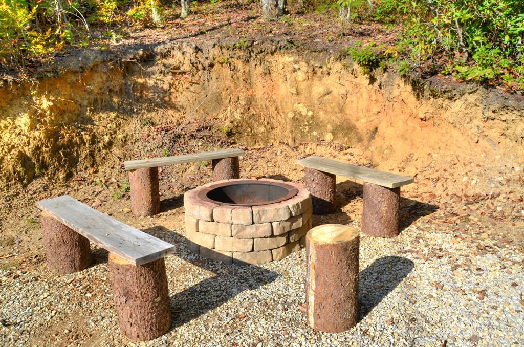 Above the Ridge - Fire Pit 1