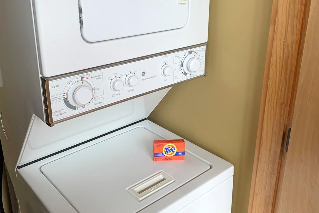 12.2) washer and dryer in each unit