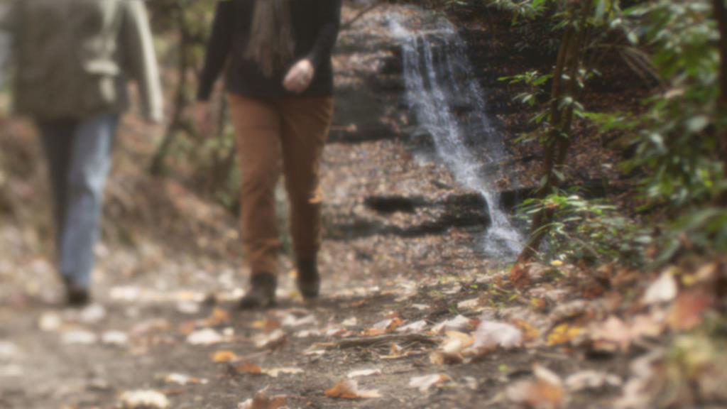 21) Waterfall at the end of the hiking trail