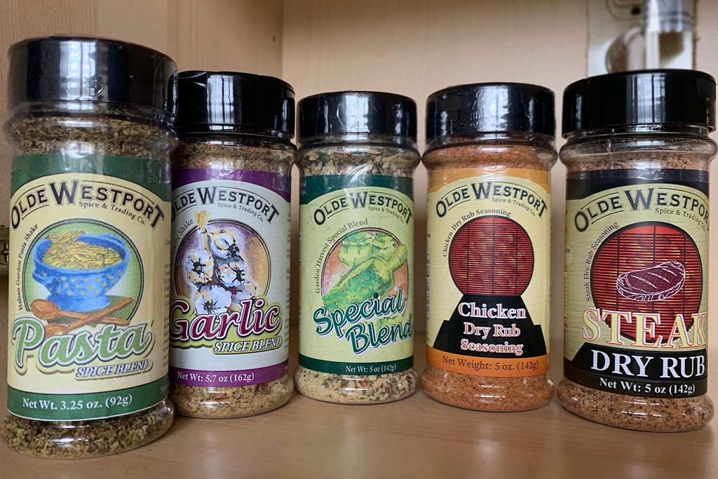 3.2) spices for cooking and grilling