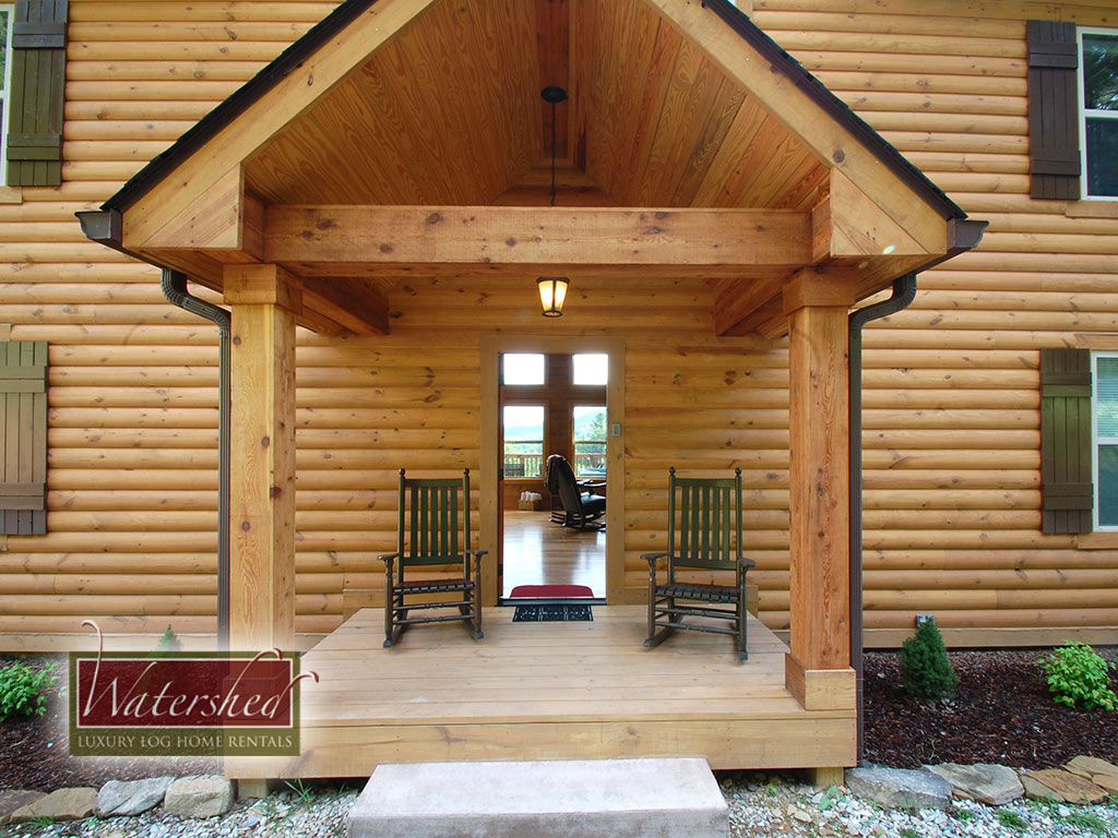 Fire fly 2 bedroom vacation cabin rental fontana lake nc for Watershed cabins lake fontana view