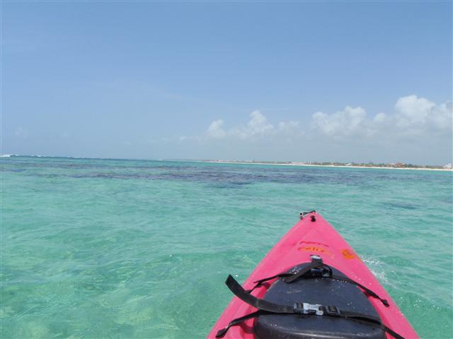 Explore Tankah bay in our kayaks