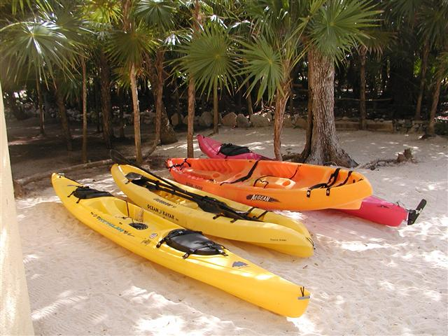 Our Kayak fleet