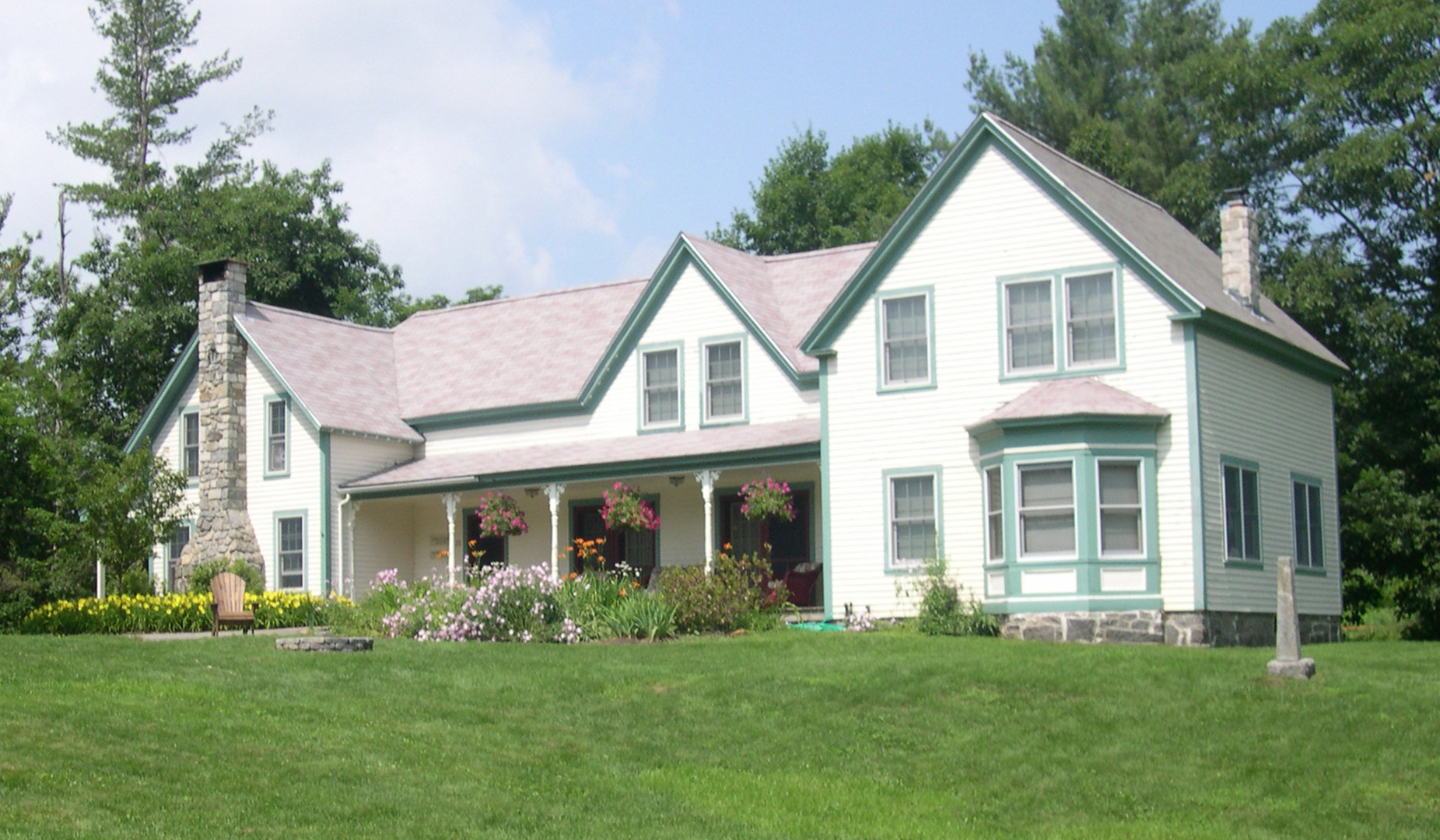 The maine farm house 7 bedroom vacation farm house rental for Maine home plans