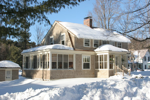 The Maine Country House: Winter