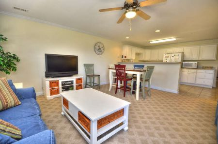 Living Dining Area Kitchen