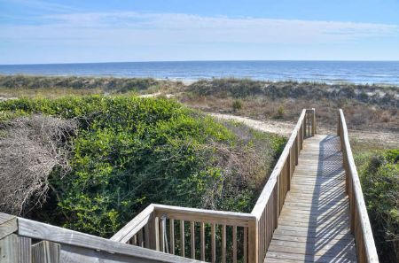 Private Access to Beach Front