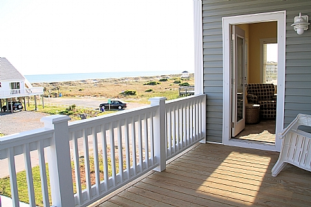 Front Deck with Ocean Views