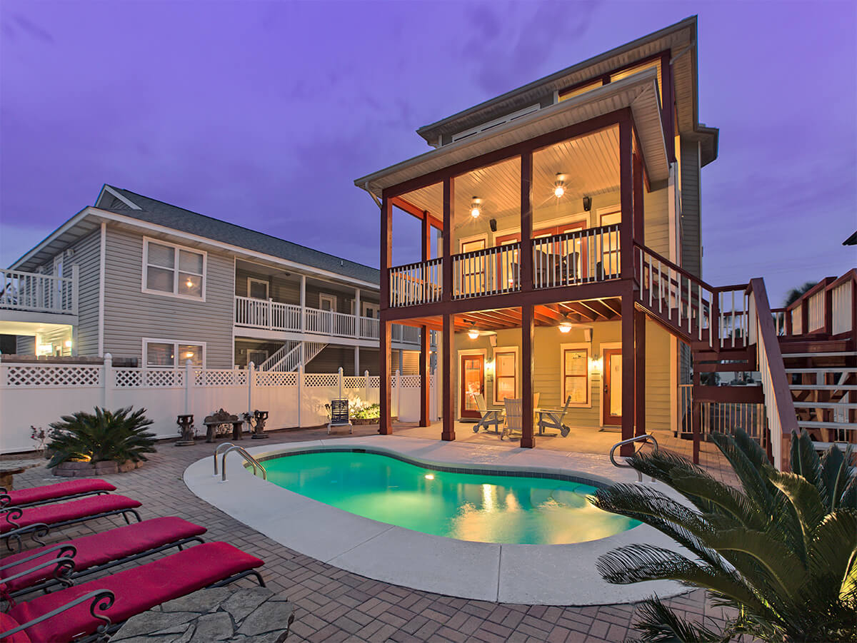 Valentine house miramar beach fl 4 bedroom vacation house - Destin florida 4 bedroom condo rentals ...