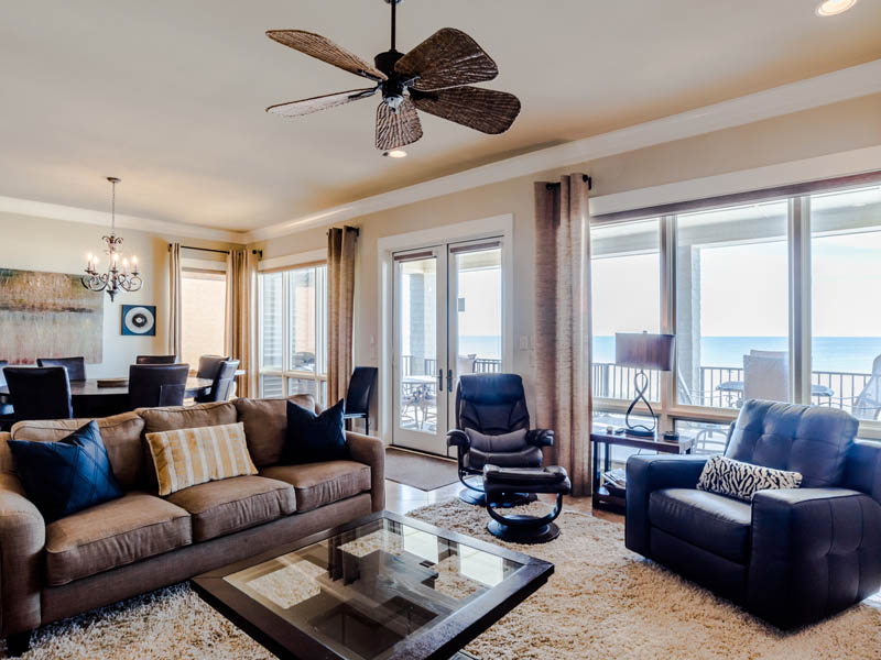 Large oceanfront vacation home rental in Gulf Shores with 7 bedrooms perfect for groups