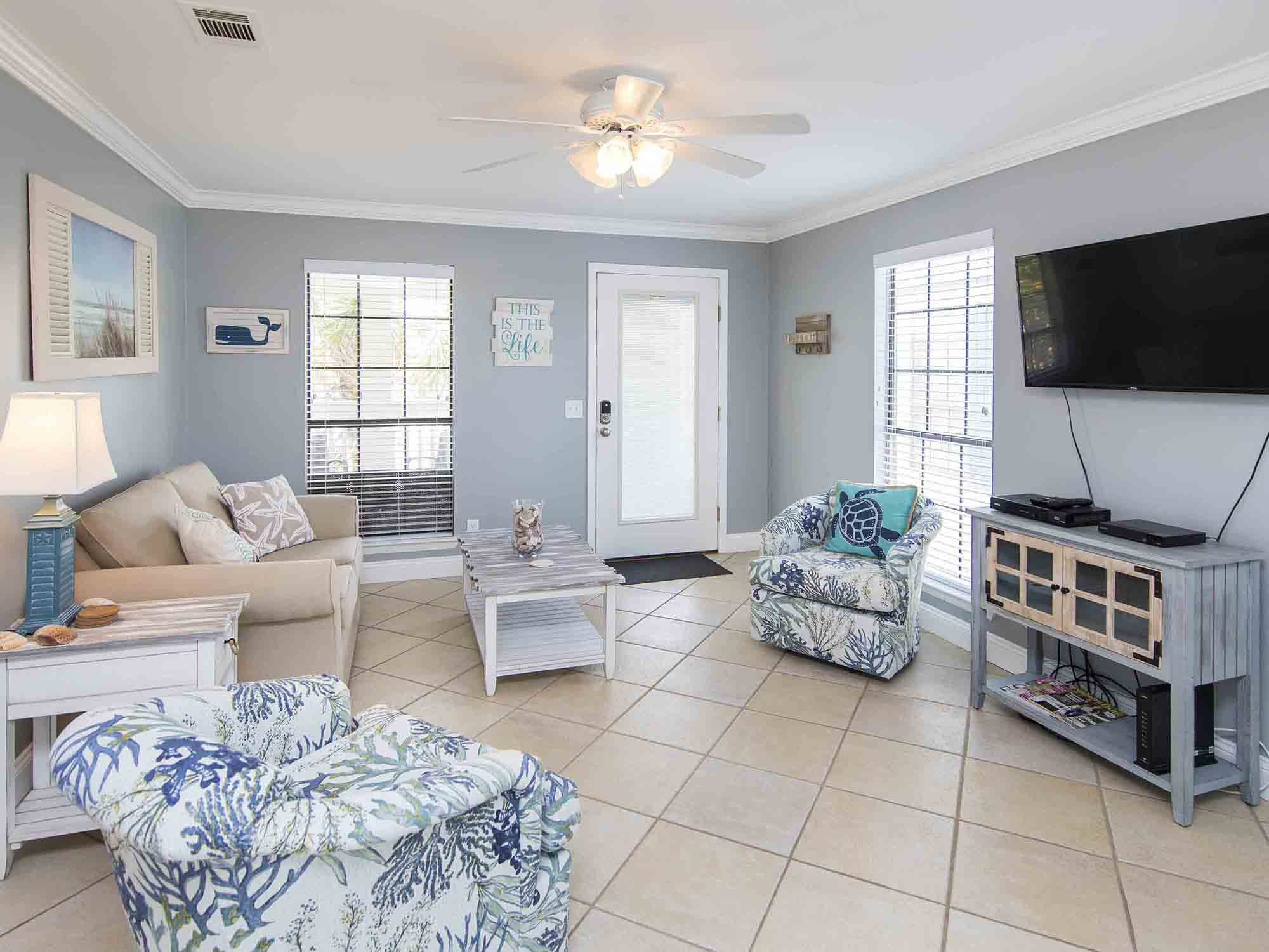 Panama City Beach vacation rental close to the beach with 2 bedrooms
