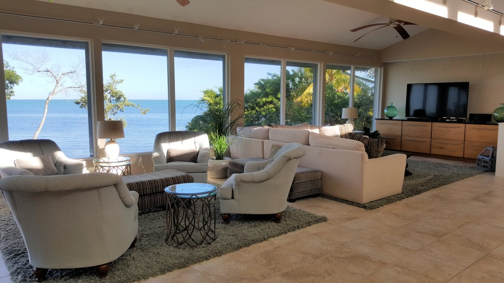 Living Areas with views