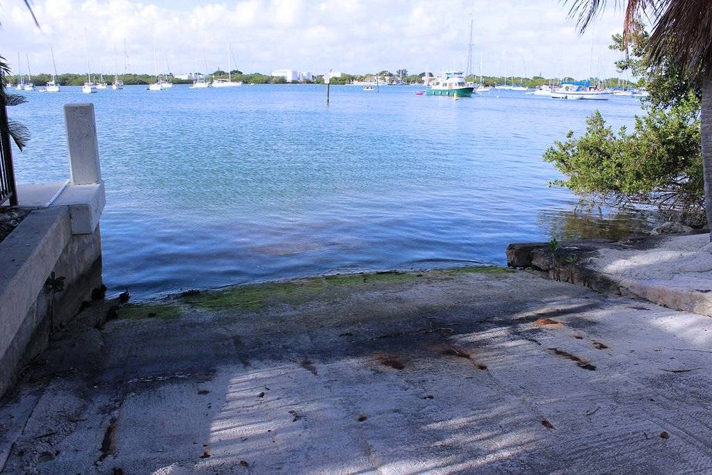 Boat Ramp for Kayak Launching