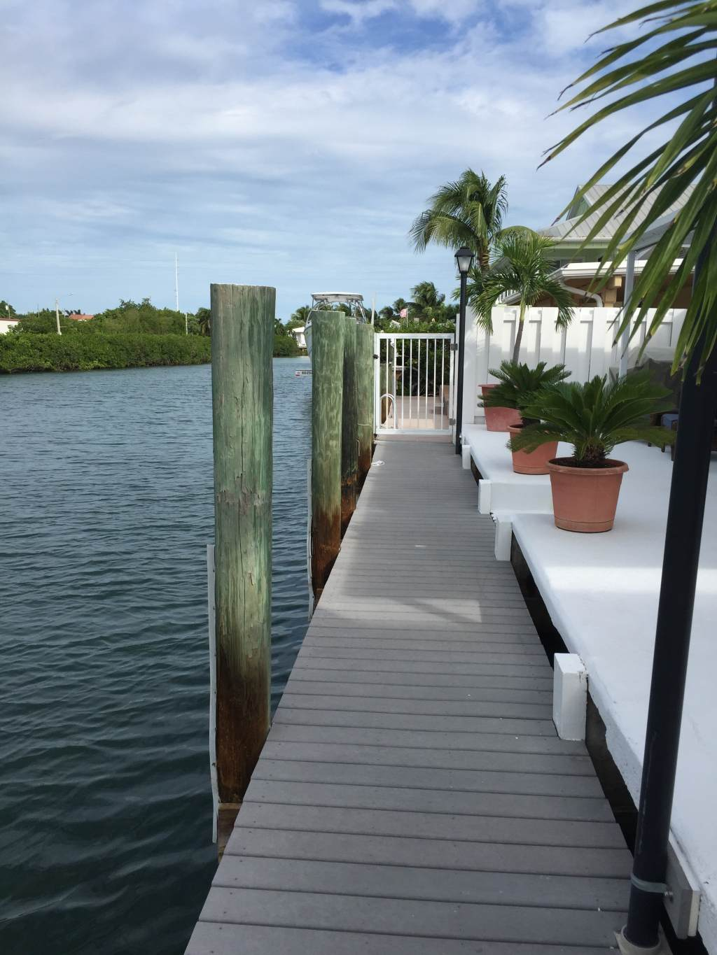 Wooden Step Down Dock