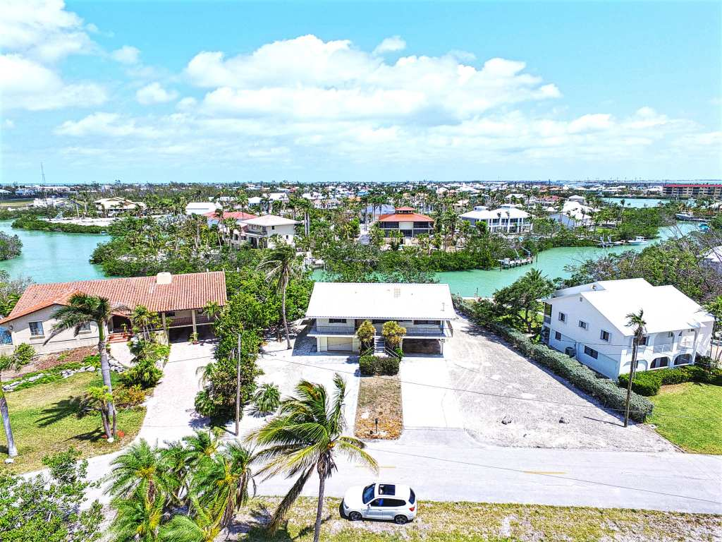 Aerial View Front of Home