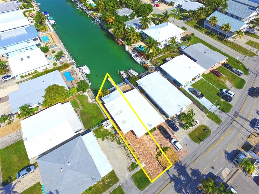 Aerial of Property and Dockage