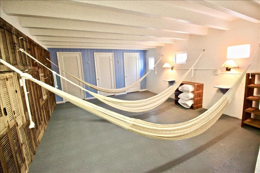Downstairs Hammocks