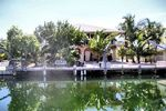 Little Torch Key monthly vacation rental with 2 bedrooms on a canal with dock