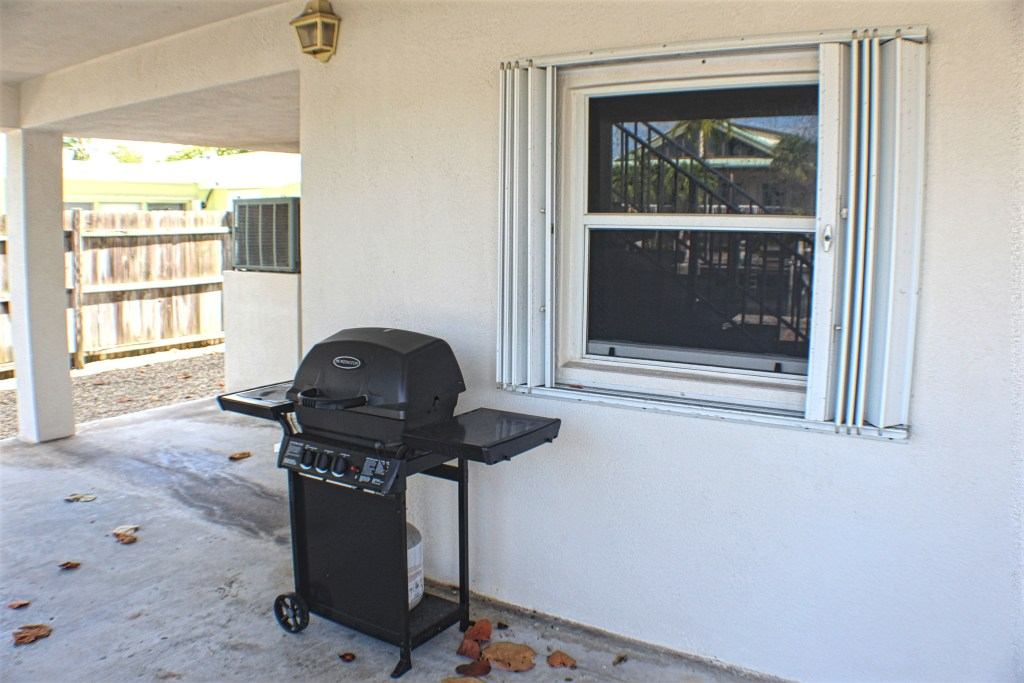 Grill Area Downstairs
