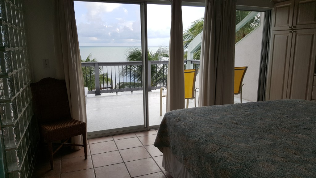 Master bedroom view out