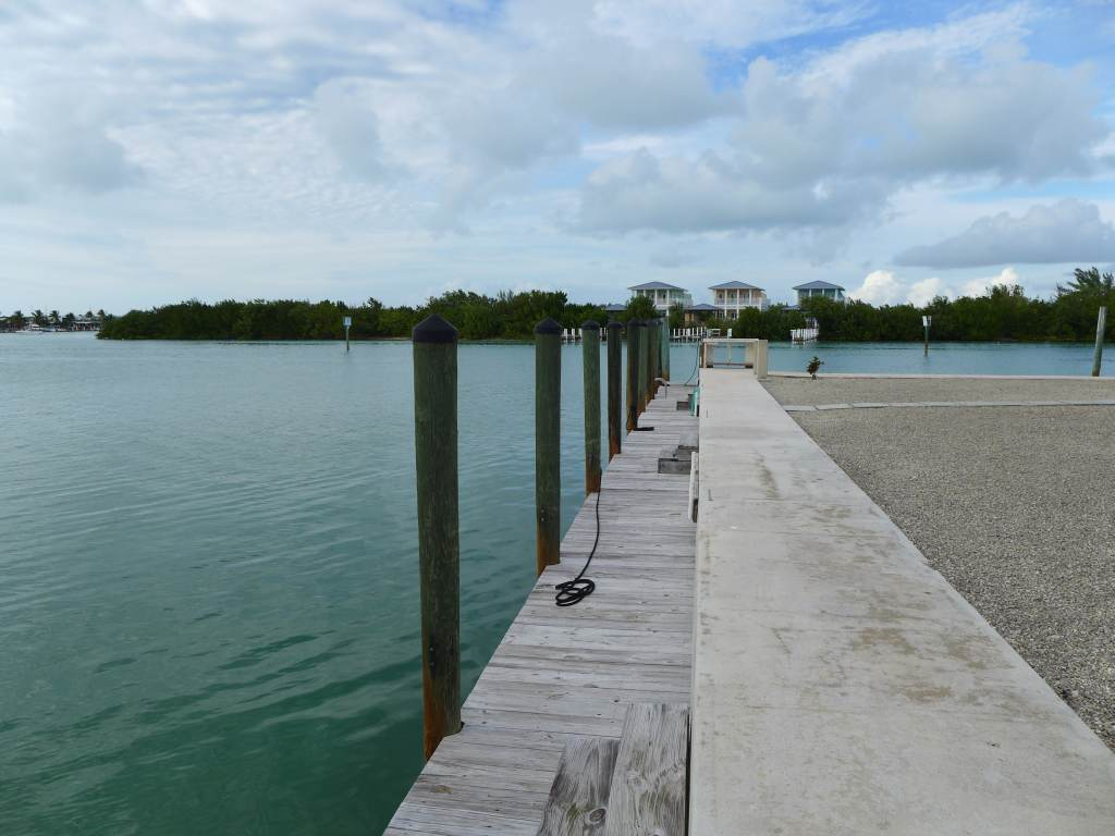 Canalfront dock
