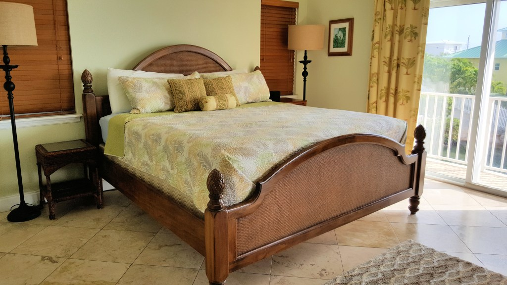 Master Bedroom with King bed view 3