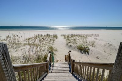 Beautiful Gulf Views and easy beach access
