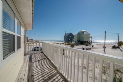 Beautiful Gulf Views off the Covered Deck
