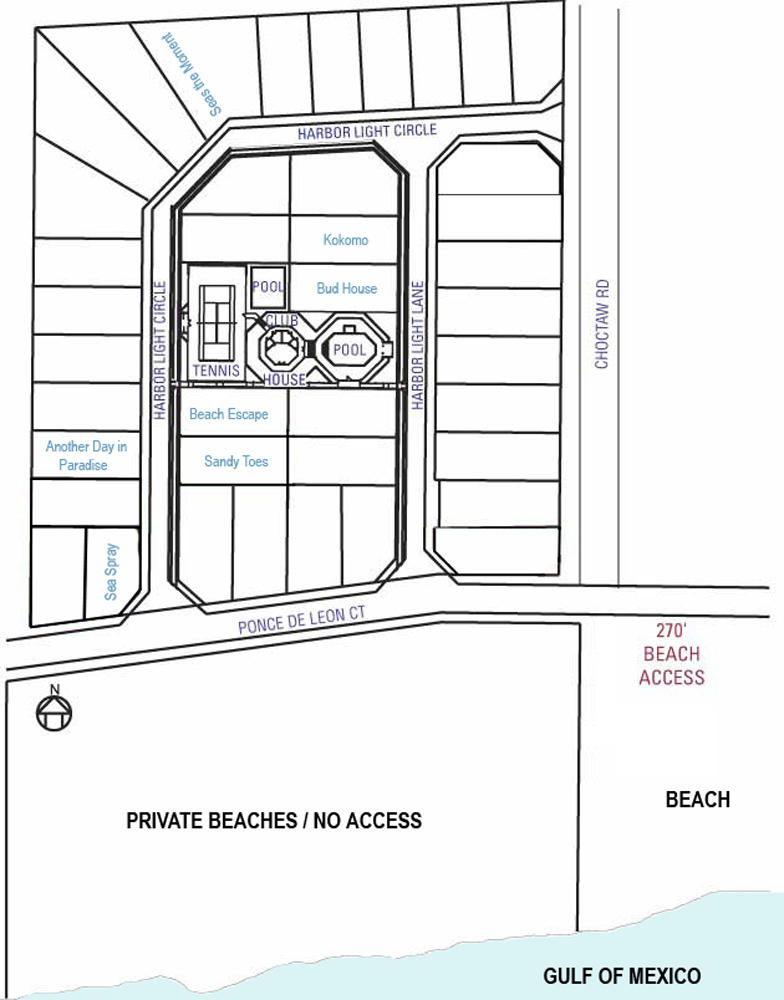 Beach Escape: Place To Stay On Vacation 3 Bedroom 2 Full