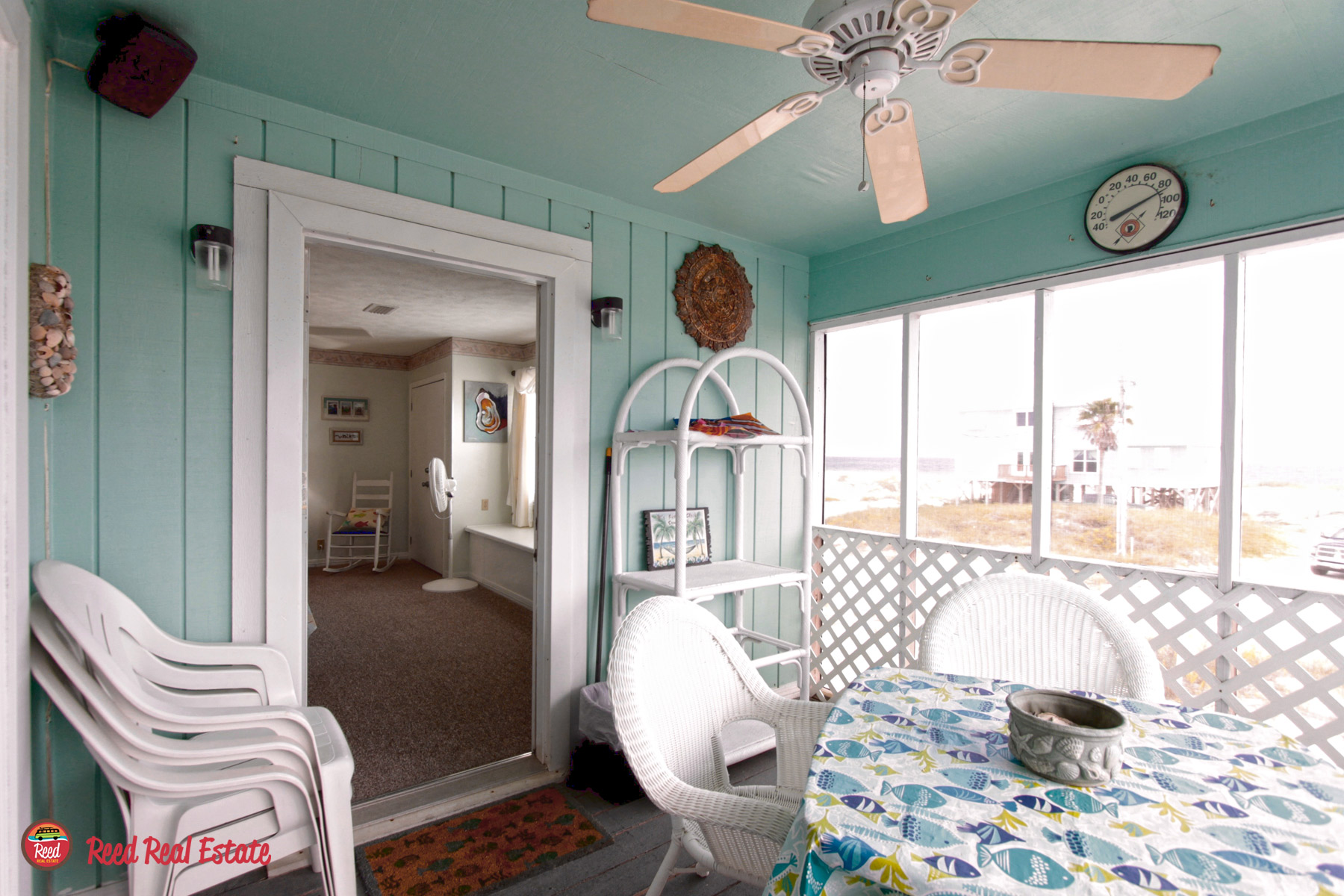 Screened porch off Master
