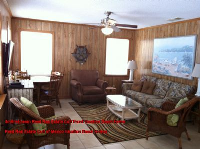 Smithstonean Reed Real Estate Gulf Front Vacation Beach Home