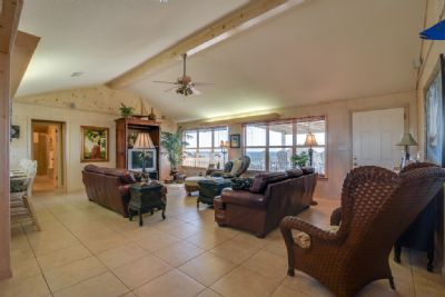 Beautifully furnished beach home