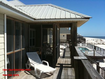Open Deck & Screened Porch