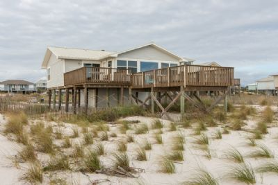 The Cabana- Great 2 Bedroom Gulf Front Beach Cottage