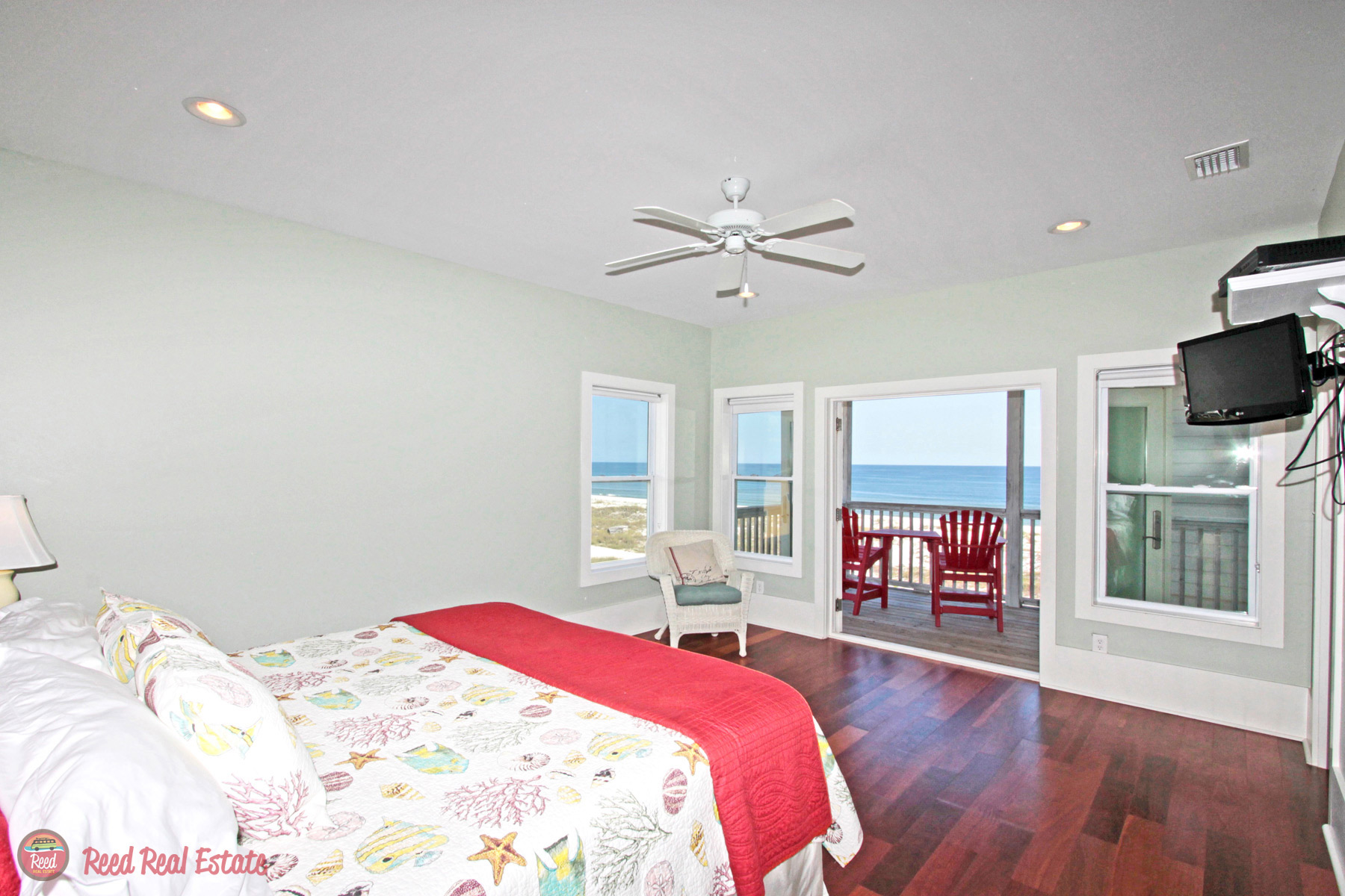 Bedroom #3 with private balcony