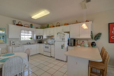 Fully Equipped Kitchen with Bar Area