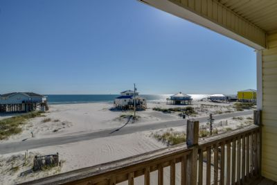 Gulf View from Covered Deck-Level 2