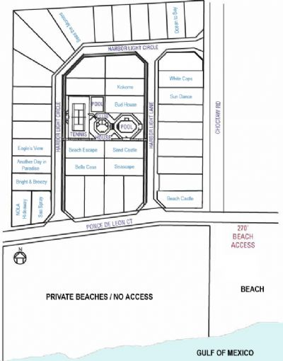 Map of our homes in Heritage Shores