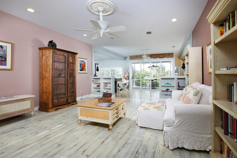 Living Area in our Marco Island 3 bedroom vacation rental