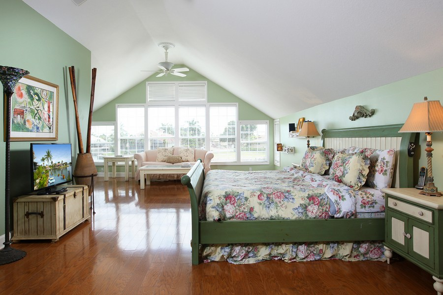 Master Bedroom in our Marco Island vacation home rental