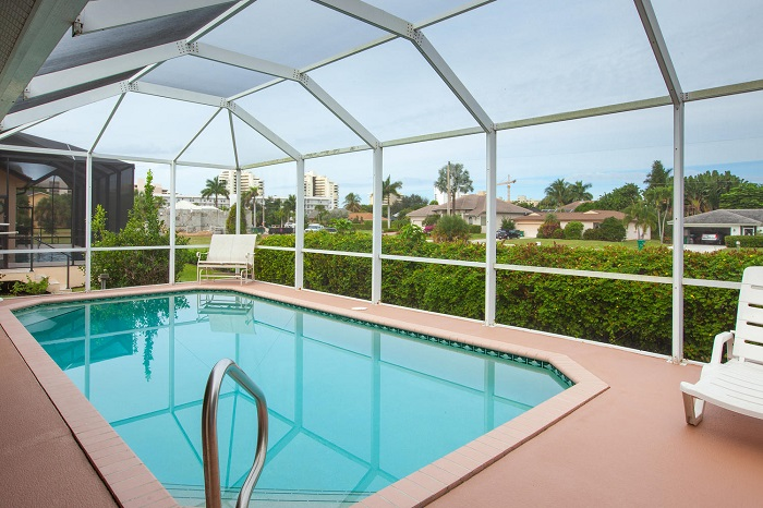 Marco Island, FL vacation home rental with pool