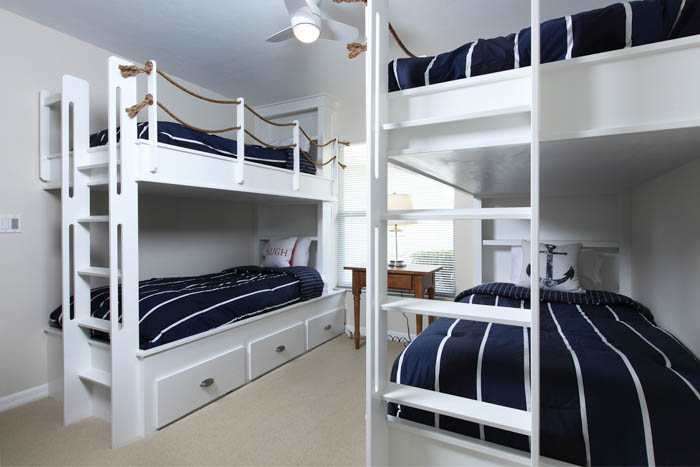 Guest Bedroom with Bunks