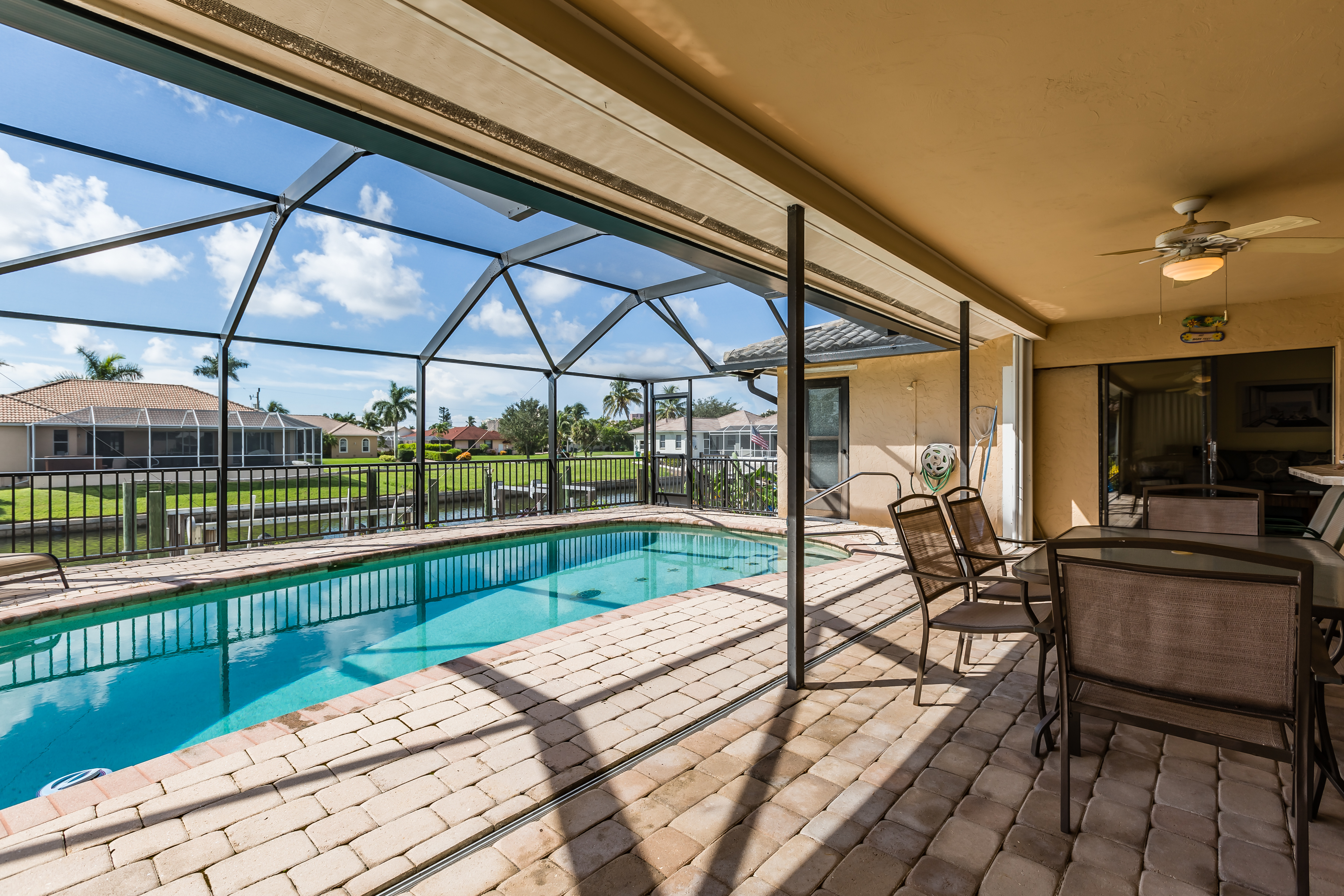 Outside Dining/Pool