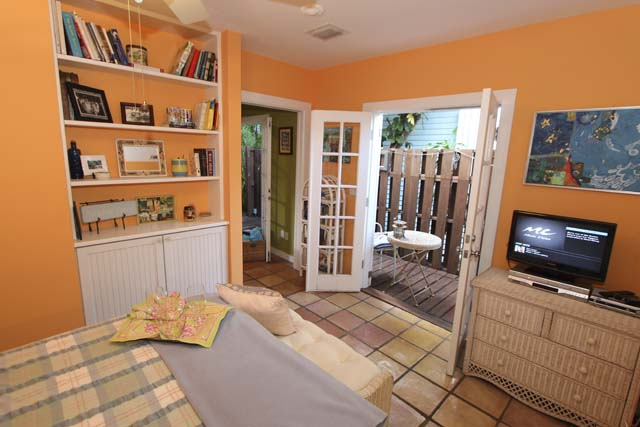 Bedroom Opens to Private Deck