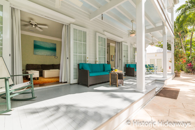 Large Covered Porch