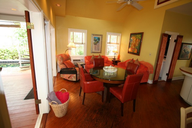 Living Area Opens to Porch