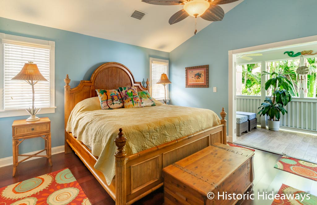 King Bedroom w/ Private Porch