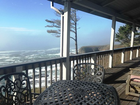 Or the right offers views and a long porch. Gualala Ocean View Vacation Home